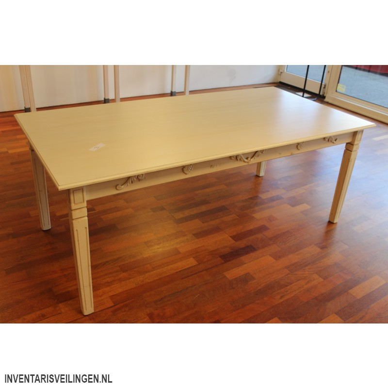 Houten eetkamer tafel - Eettafel en houten eetkamer ...