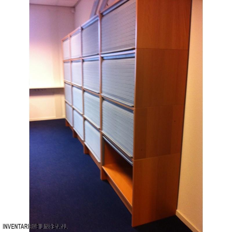 Spiksplinternieuw Ikea Effektiv berken archiefkast met roldeur HV-57