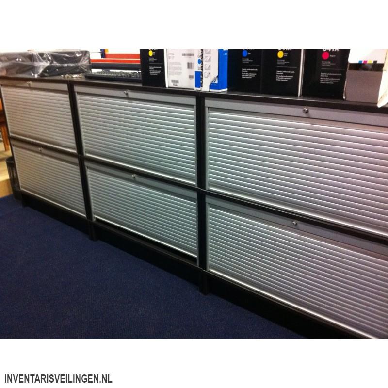 Onwijs Ikea Effektiv zwarte archiefkast TF-81